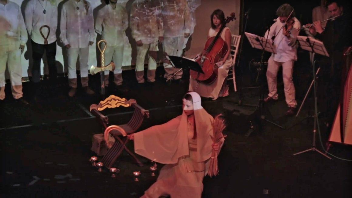 """Mногобройна публика посети интерактивния спектакъл """"Конници"""" с участието на Арт Формация """"Орфика"""""""