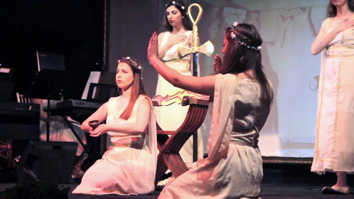 Интерактивен спектакъл Конници - Академия Орфика